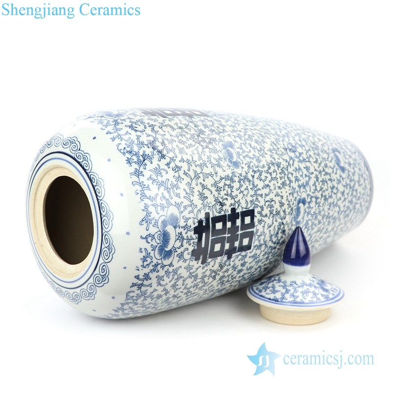 high quality ceramic jar with lid