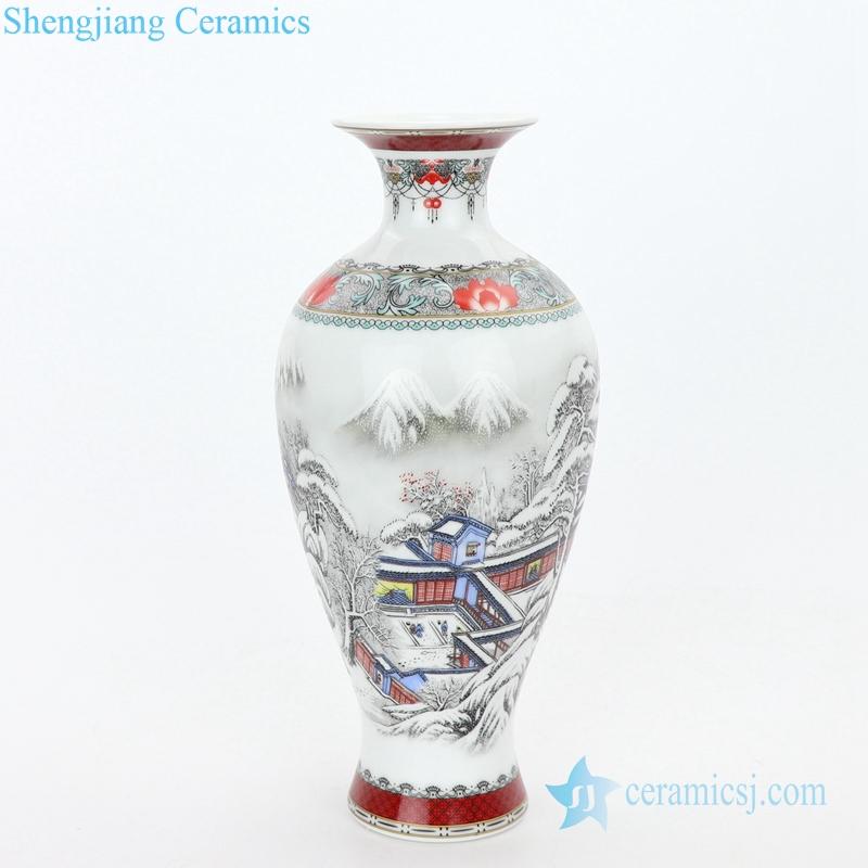 ancient decorative ceramic vase and plate