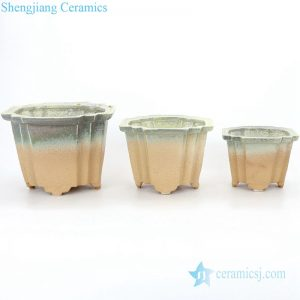 RZPR02 Simple style home decorative ceramic planter