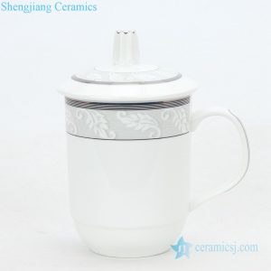 CBAG07 Shengjiang hand made exquisite simple style ceramic tea cup