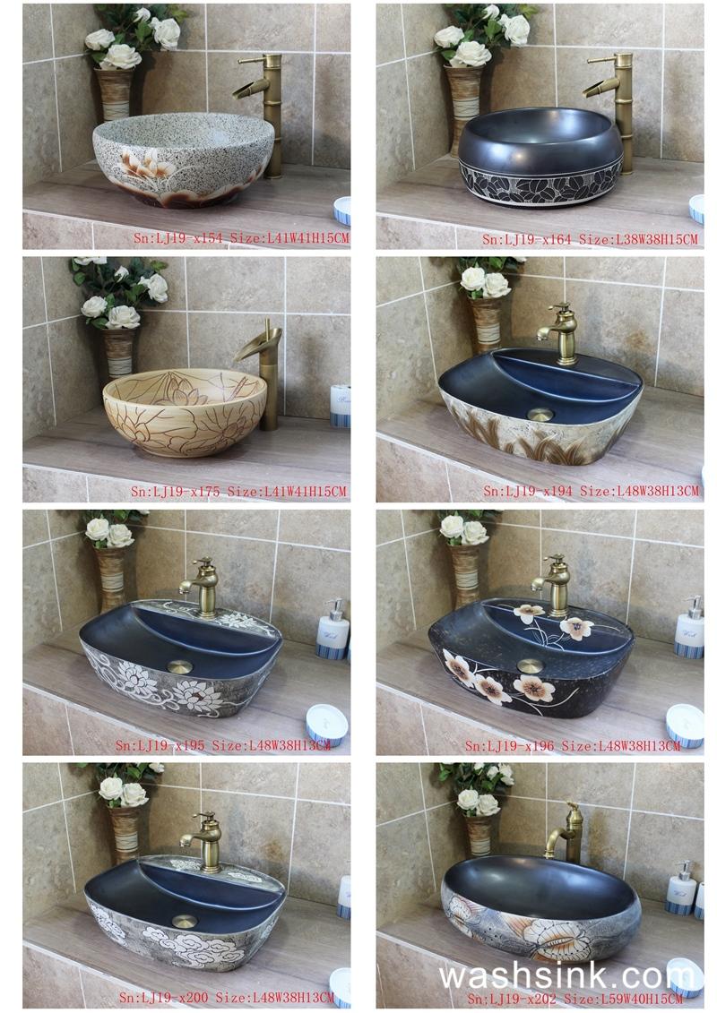 ContactSheet41_010 2019 vol03 New arrivals Shengjiang exquisite arts and crafts ceramic wash basin - shengjiang  ceramic  factory   porcelain art hand basin wash sink