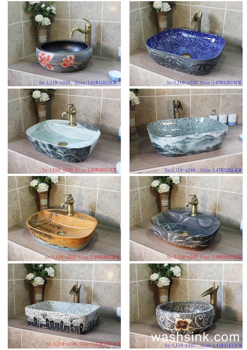 ContactSheet41_013 2019 vol03 New arrivals Shengjiang exquisite arts and crafts ceramic wash basin - shengjiang  ceramic  factory   porcelain art hand basin wash sink