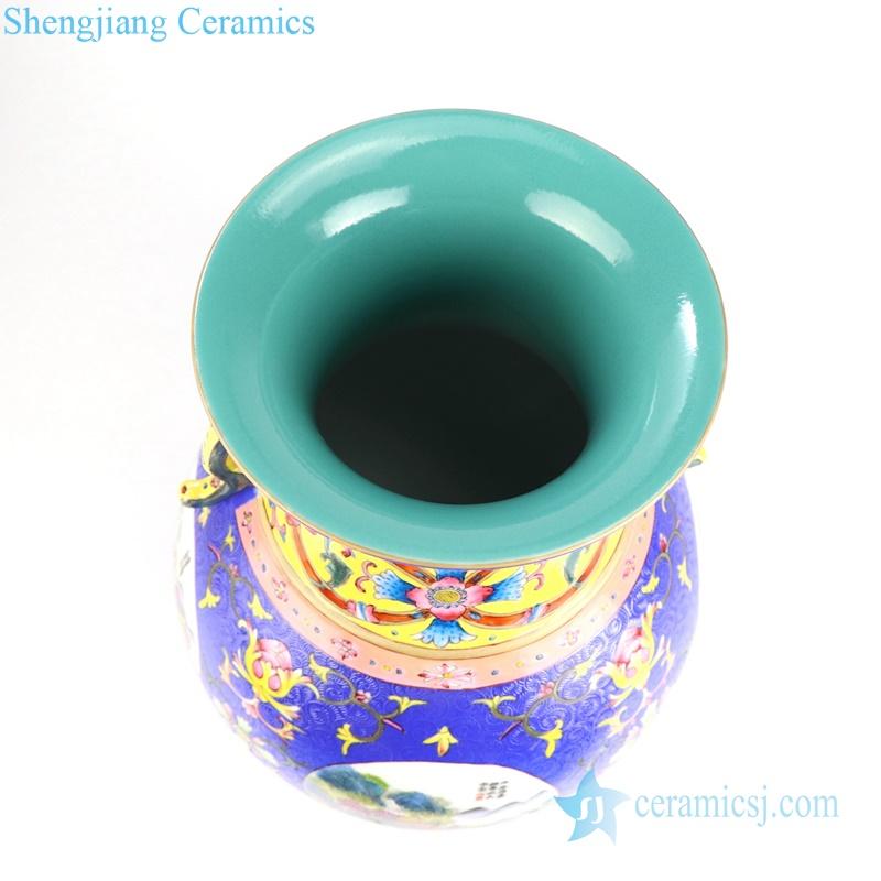 hand paint porcelain vase