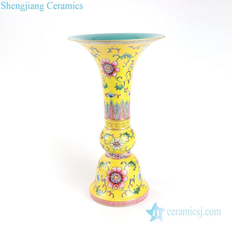 cherish buddha set of 5 porcelain vase