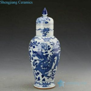 RZJI03 Hand made dragon design candle knob lid ceramic jar