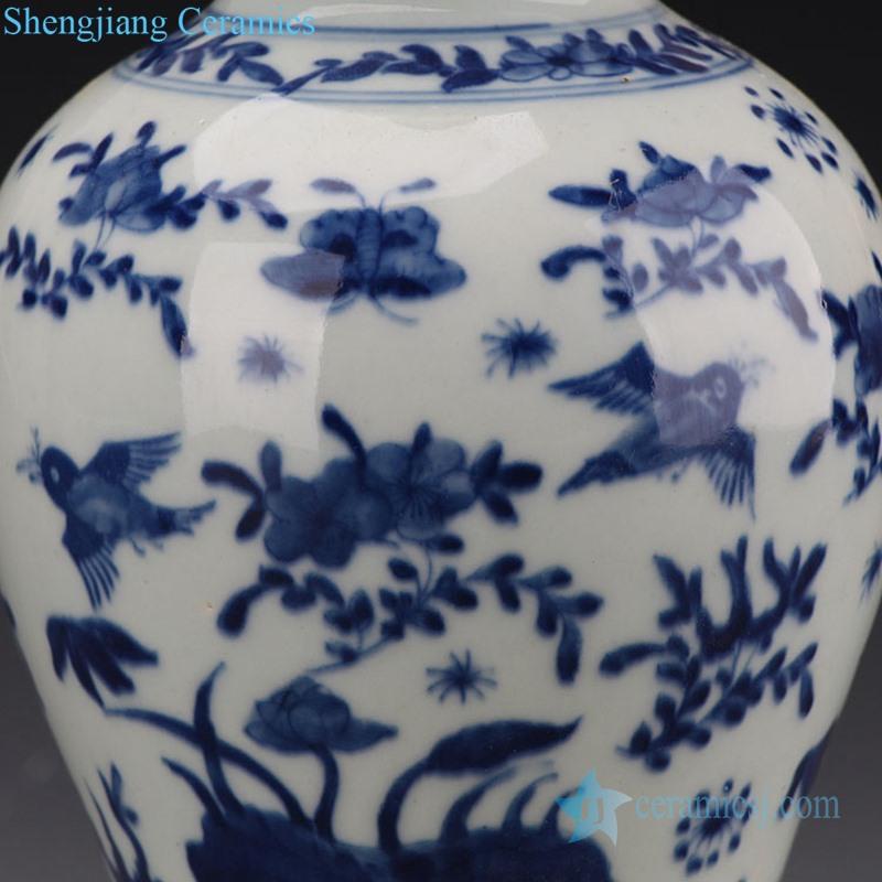 various pattern ceramic vase