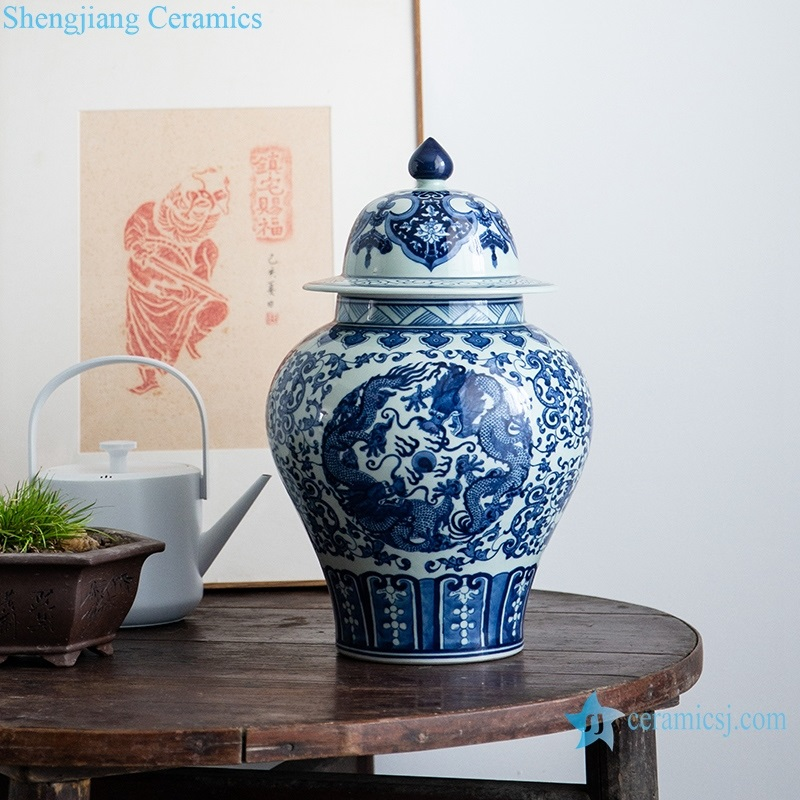 Archaize blue and white l pot daily view