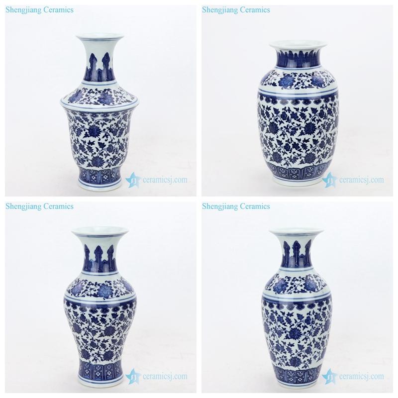 hand craft ceramic vase