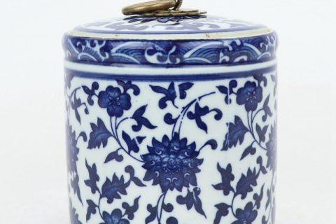 RZNV05 Jingdezhen high temperature fired ceramic tea jar