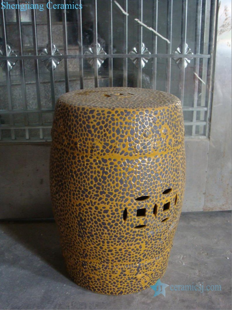 unique ceramic stool