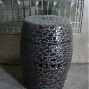 RZPZ28 Shengjiang hand made precious stone design ceramic stool