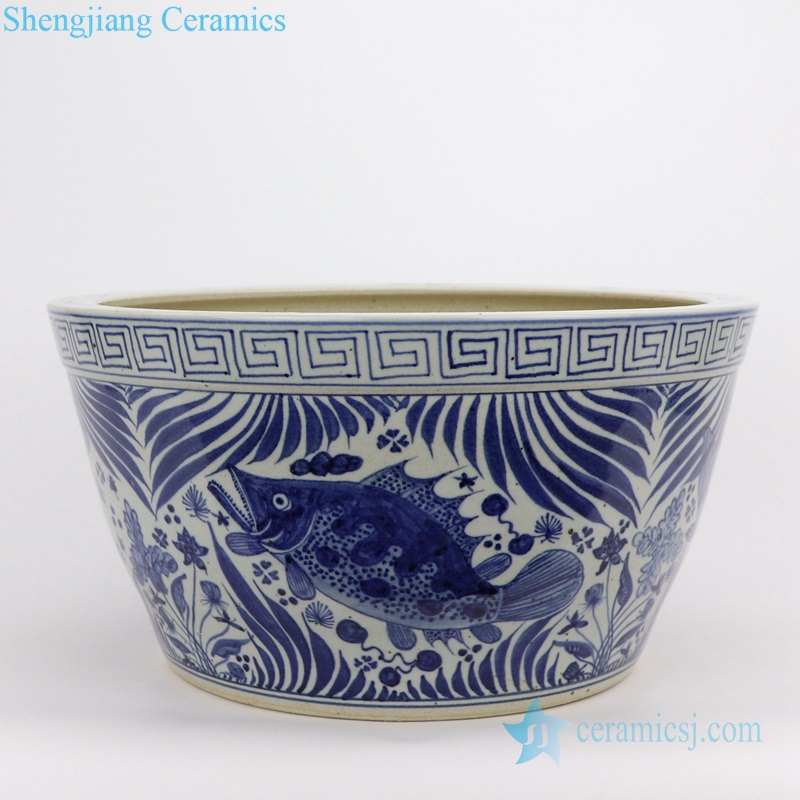 siniperca chuatsi ceramic pot