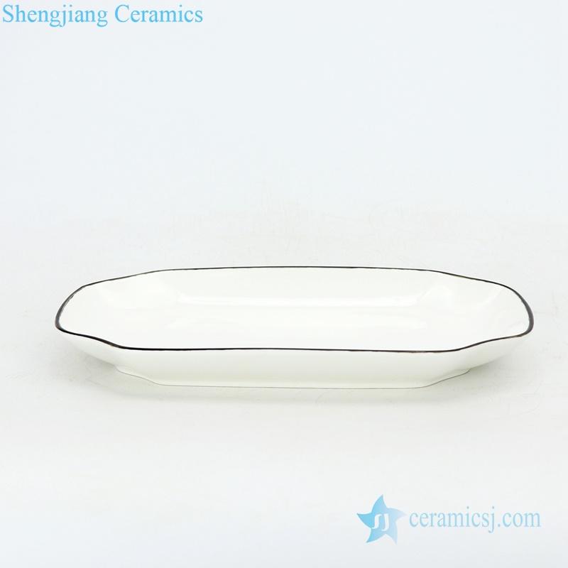 square ceramic plate