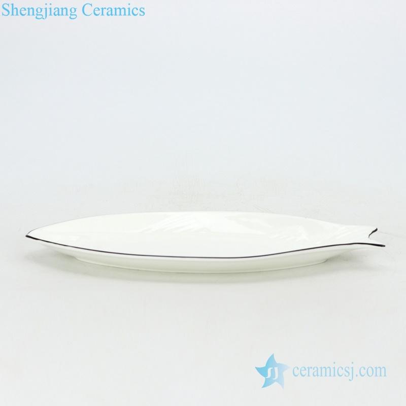 Fish porcelain plate