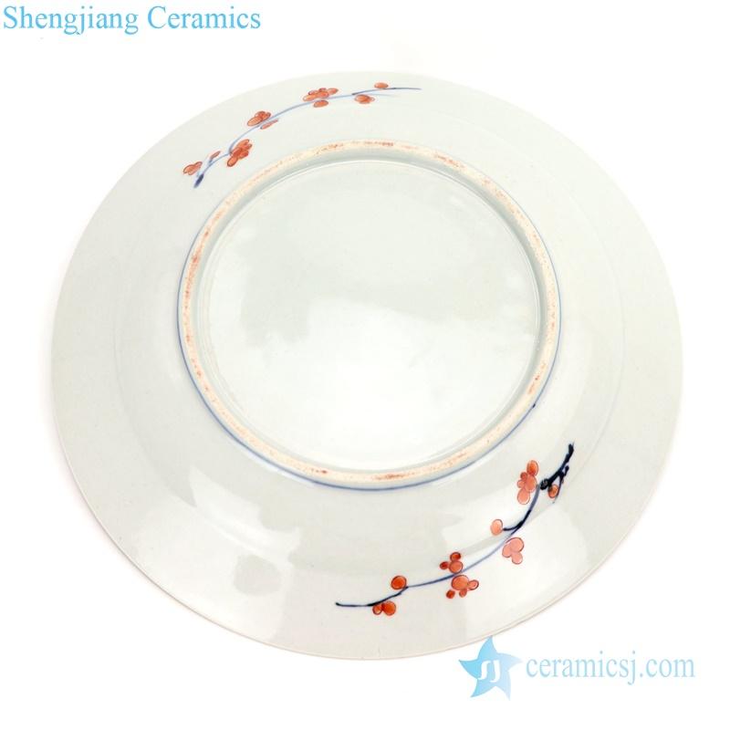 lotus porcelain plate