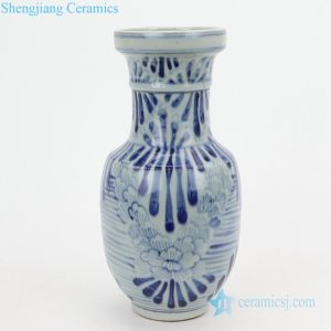 RZQJ03 Jingdezhen China hand painted flower porcelain vase