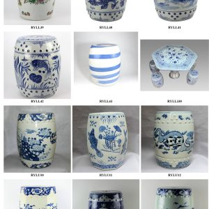2019 Shengjiang crafted and multi-functional porcelain tables & garden stools
