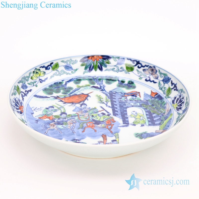 decor ceramic plate