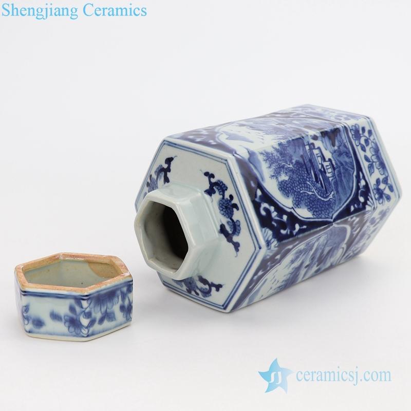 ceramic kitchen storage jar