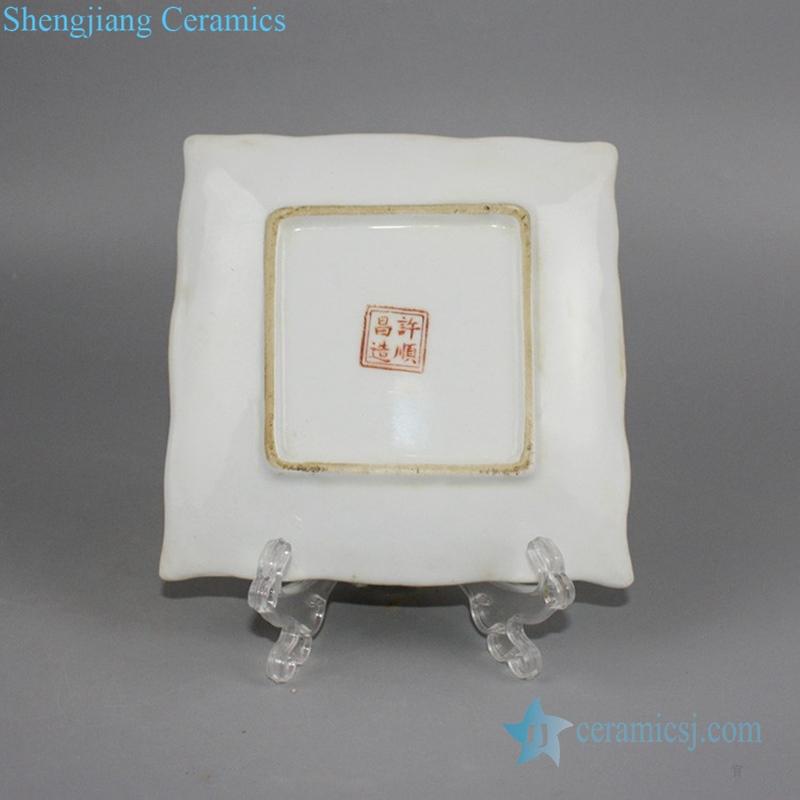 ceramic decoration plate