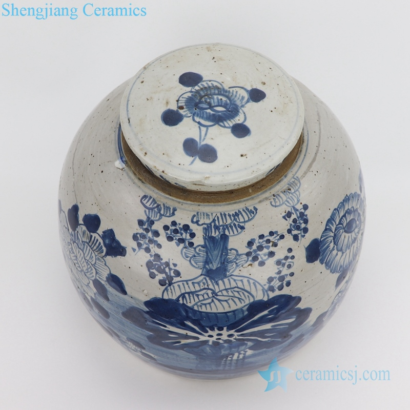 ceramic tea jar with lid