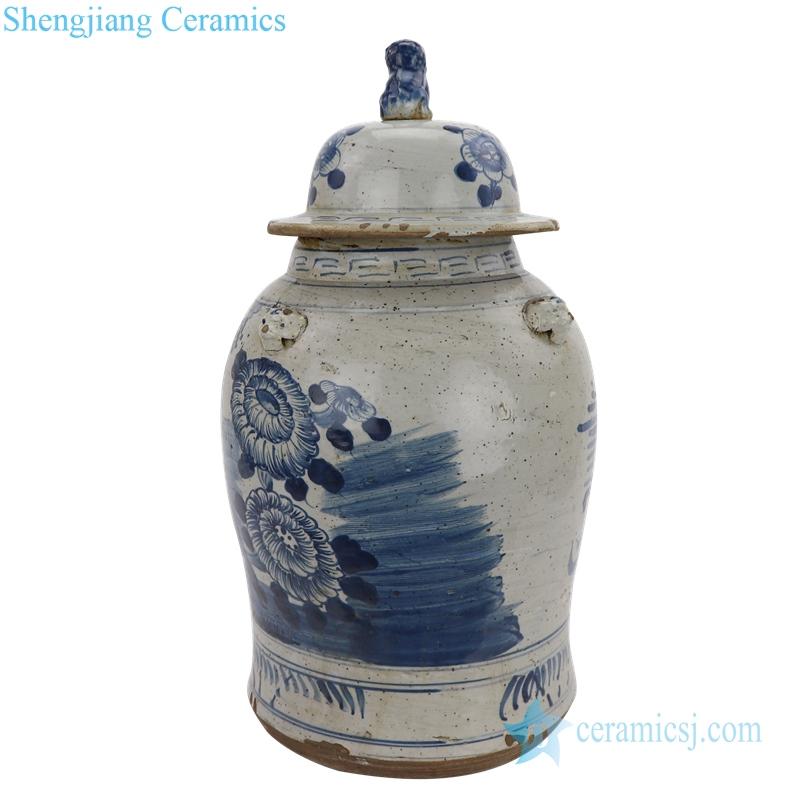 antique porcelain ginger jar