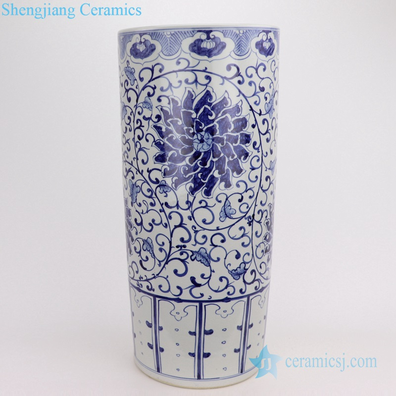 crackled glaze ceramic umbrella stand
