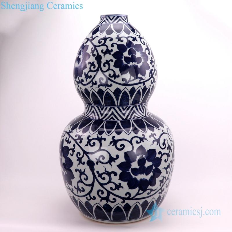 shengjiang beautiful gourd-shaped ceramic vase