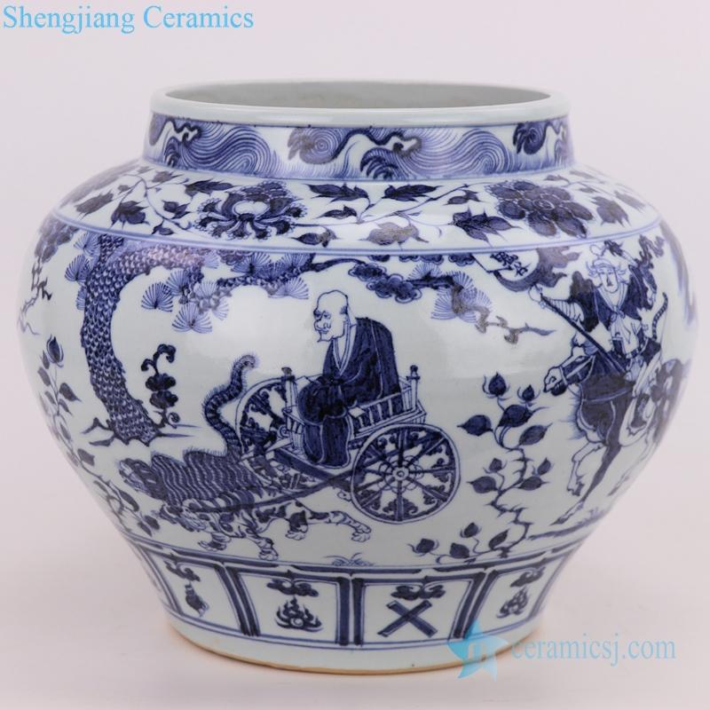 Yuan Dynasty porcelain vase