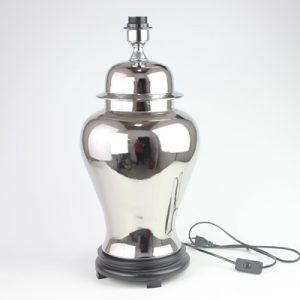 DS113-RYKB113-F Jingdezhen Silver plated ceramic general tank lamp