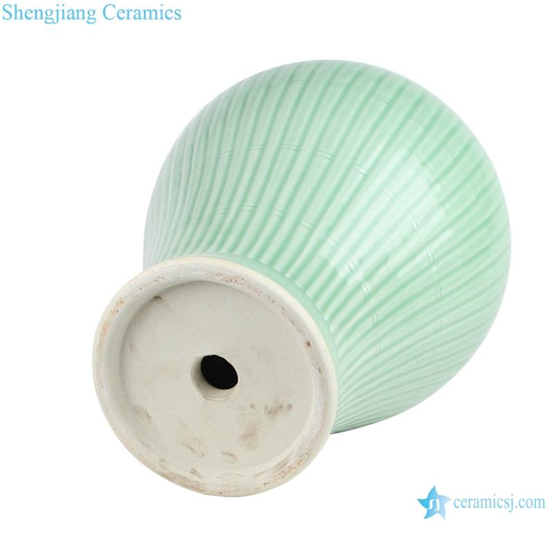 ceramic lamp for general jar bottom view