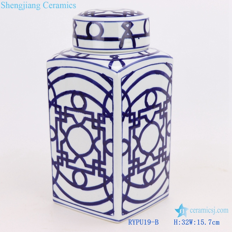 traditional Jingdezhen Blue and white tea pot