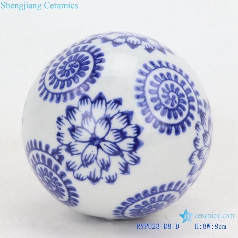 ceramic ball decorative ball round float ball