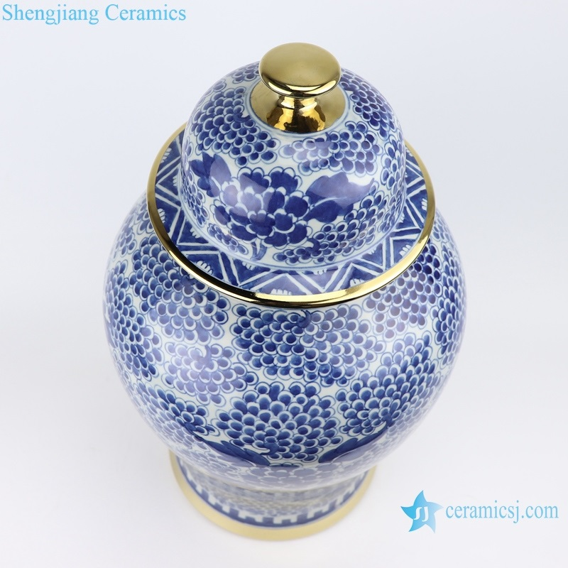 Jingdezhen Archaize blue and white general pot