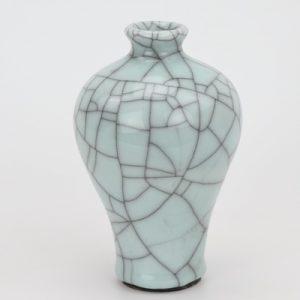 RYXC18-B Longquan celadon geyao crack glaze wire grain plum vase small vases