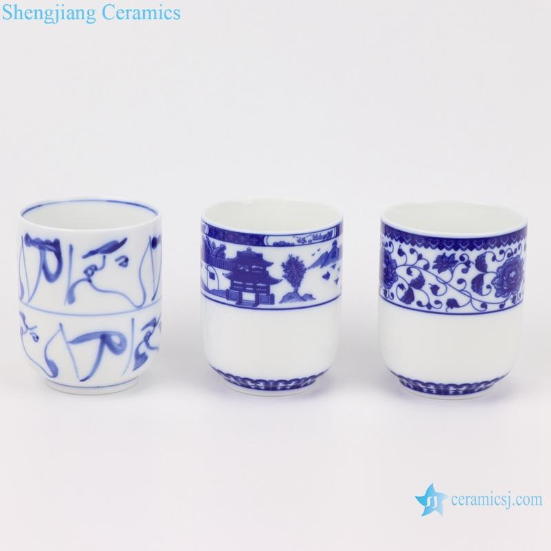 Jingdezhen shengjiang straight mouth cup