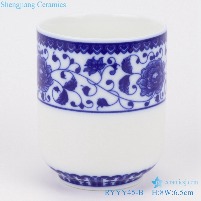 traditional shengjiang straight mouth cup