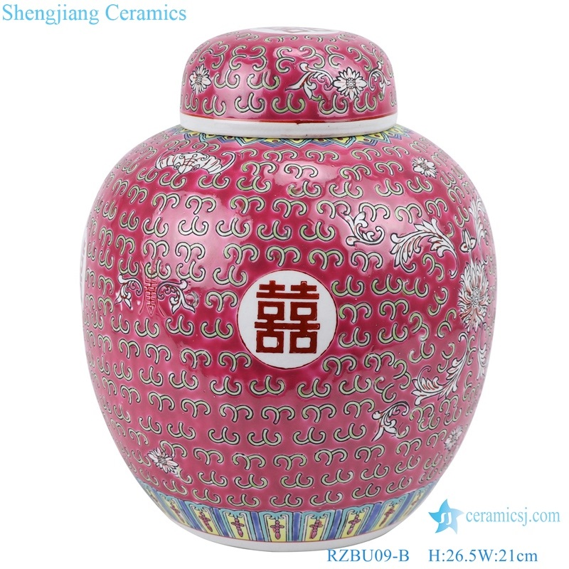 traditional Chinese style pot jar