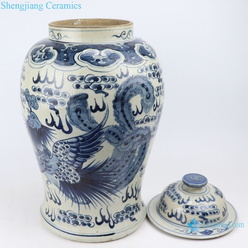 Archaize hand-painted general pot storage pot