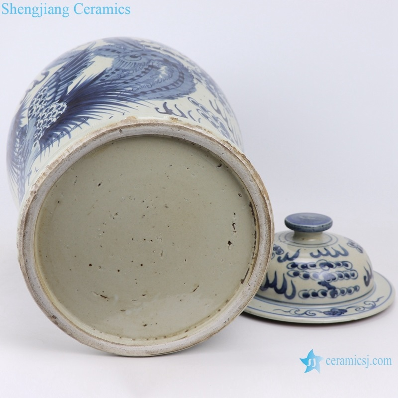 shengjiang Archaize hand-painted fire general pot
