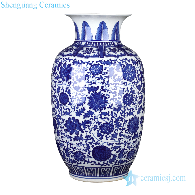 Jingdezhen lotus gourd bottle vase decoration