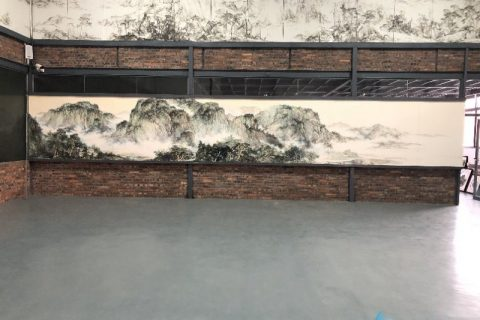 Jingdezhen shengjiang special about large and high-grade ceramic murals
