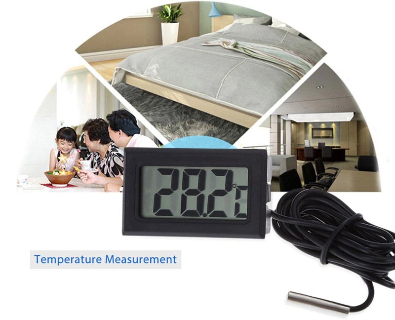 Mini Convenient Digital LCD Thermometer Sensor