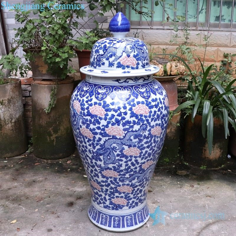 Pure and fresh large general pot decoration