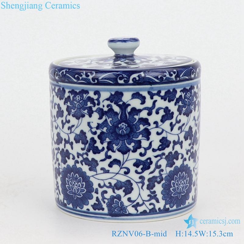Jingdezhen beautiful traditional tea pot front view