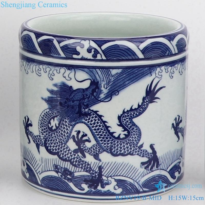 jingdezhen Traditional ceramic straight tube pen tube size