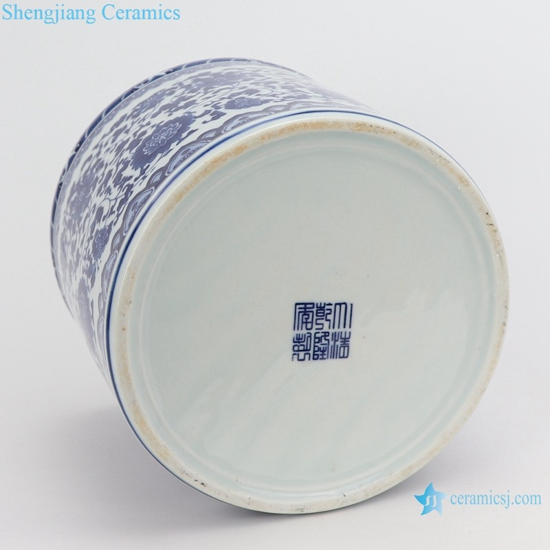 china pen container decoration large bottom