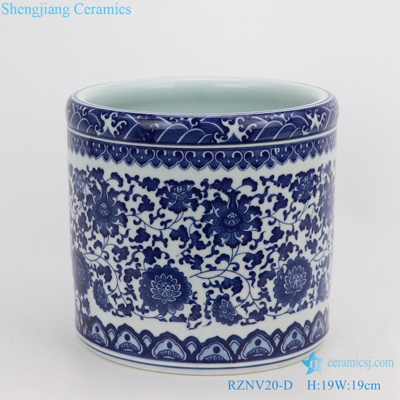 Chinese traditional beautiful pen container decoration large