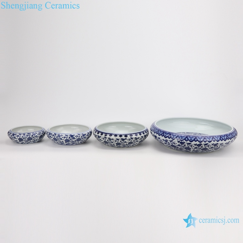 Ceramic wash water light decoration Combination of figure