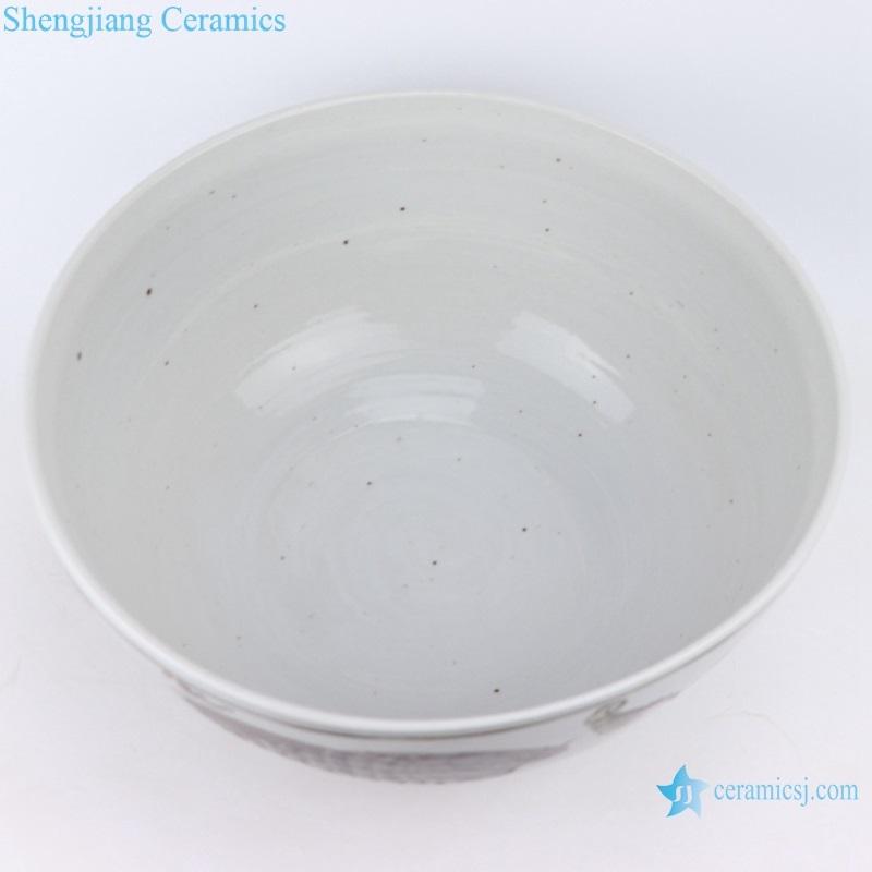 jingdezhen antique hand-painted ceramic bowl